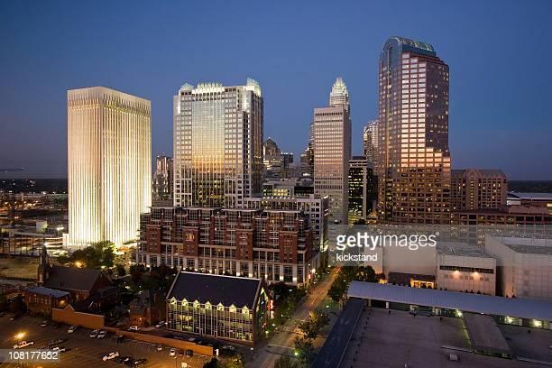 Charlotte, NC twilight