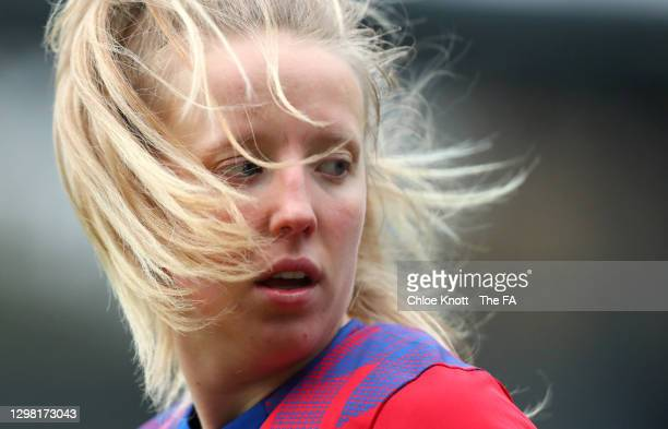 Charlotte Newsham of Blackburn Rovers looks on during the Barclays FA Women's Championship match between London City Lionesses and Blackburn Ladies...