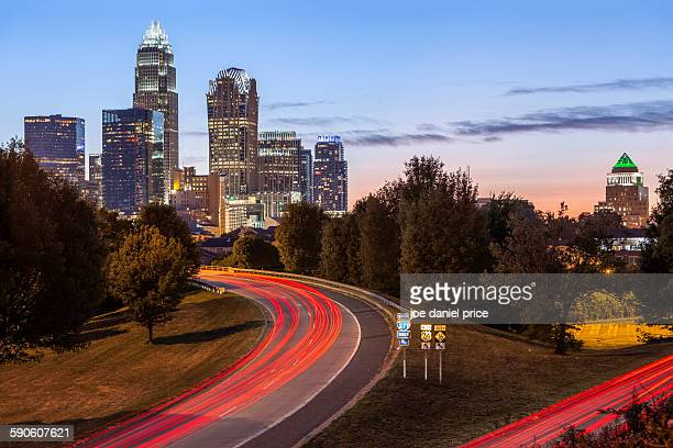 charlotte, north carolina, america - charlotte north carolina stock photos and pictures