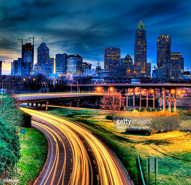 Charlotte, North Carolina at Night, HDR