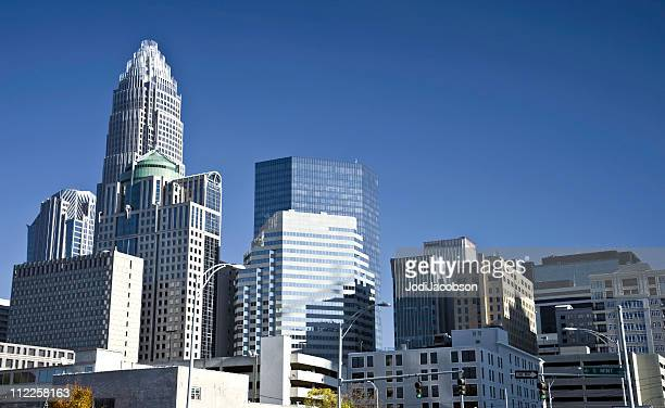 Charlotte North Carolina financial district