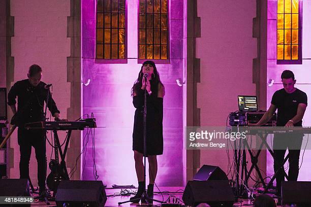Charlotte OC performs at The Cathedral at Tramlines Festival on July 24 2015 in Sheffield United Kingdom