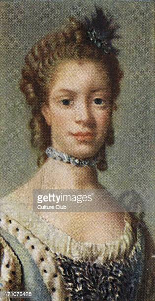 Charlotte of Mecklenburg Strelitz portrait Charlotte of Mecklenburg Strelitz was married to George III She was an amateur botanist who helped to...