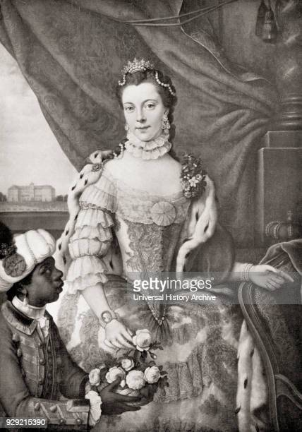 Charlotte of MecklenburgStrelitz 1744 – 1818 age 17 Queen consort of Great Britain and Ireland as the wife of King George III From Buckingham Palace...