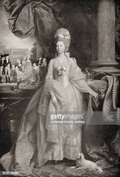 Charlotte of MecklenburgStrelitz 1744 – 1818 Queen consort of Great Britain and Ireland as the wife of King George III From Buckingham Palace Its...