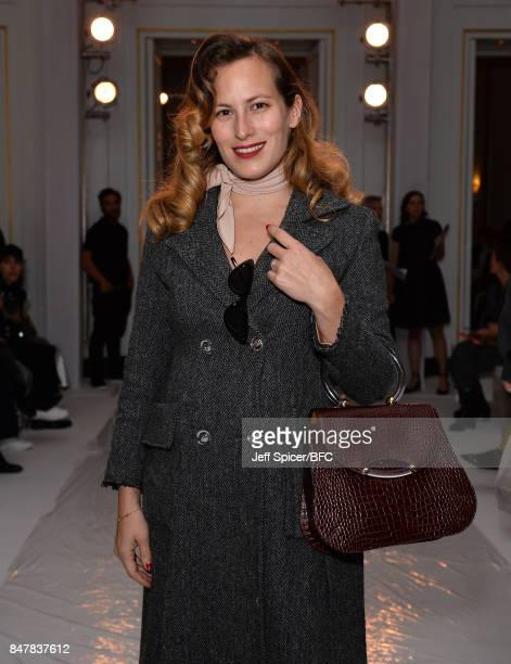 Charlotte Olympia attends the Jasper Conran show during London Fashion Week September 2017 on September 16 2017 in London England
