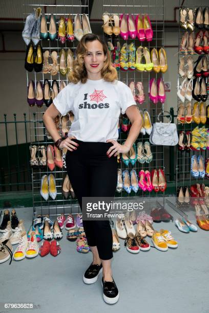 Charlotte Olympia attends the Women for Women International #SheInspiresMe car boot sale at Brewer Street Car Park on May 6 2017 in London England