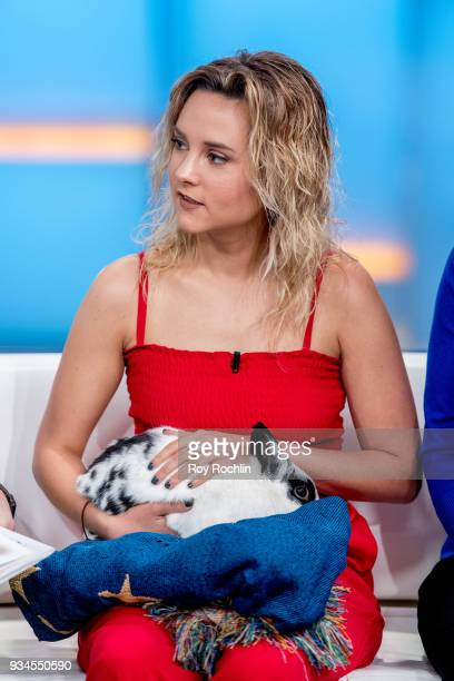 Charlotte Pence and the Pence family Bunny Maroln Bundo visit Fox Friends to discuss 'Maroln Bundo's a day in the life of The Vice President' at Fox...