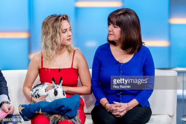 Charlotte Pence Karen Pence and the Pence family Bunny Maroln Bundo visit Fox Friends to discuss 'Maroln Bundo's a day in the life of The Vice...