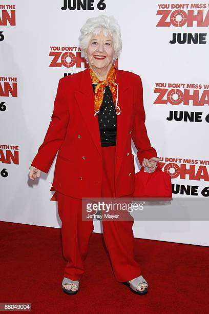 """Charlotte Rae arrives at Sony Pictures Premiere of """"You Don't Mess With the Zohan"""" on May 28, 2008 at Grauman's Chinese Theatre in Hollywood,..."""