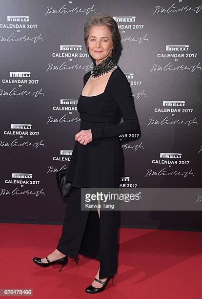 Charlotte Rampling attends the 2017 Pirelli Calendar Gala Dinner at La Cite Du Cinema on November 29 2016 in SaintDenis France