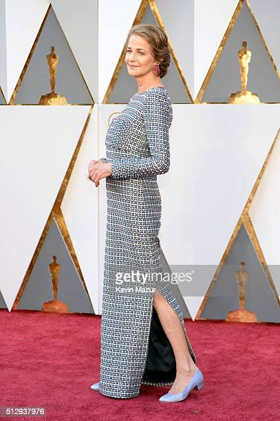 Charlotte Rampling attends the 88th Annual Academy Awards at Hollywood Highland Center on February 28 2016 in Hollywood California