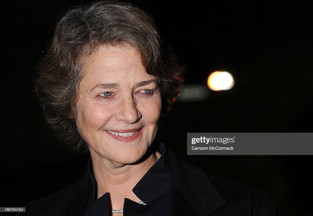 Charlotte Rampling attends the London Evening Standard British Film Awards at the London Film Museum on February 4, 2013 in London, England.