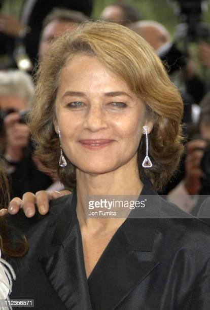 Charlotte Rampling during 2005 Cannes Film Festival 'Lemming' Premiere in Cannes France