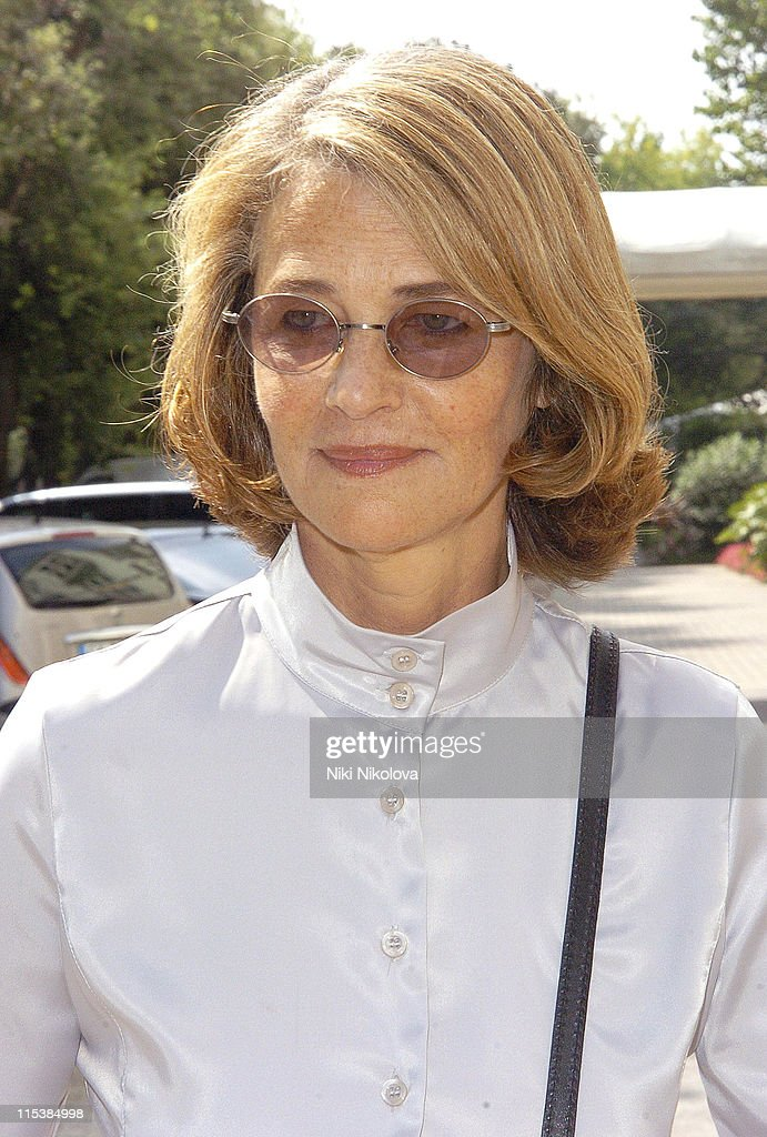 Charlotte Rampling during 2005 Venice Film Festival - Celebrity Sightings Outside the Des Bains Hotel - September 8, 2005 at Des Bains Hotel in Venice Lido, Italy.