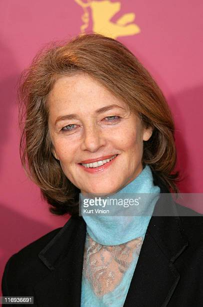 "Charlotte Rampling during 56th Berlinale International Film Festival - ""International Jury"" Press Conference at - in Berlin, Germany."