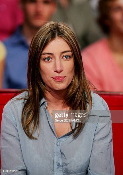 Charlotte Rampling On 'Vivement Dimanche' Tv Show On October 31St 2006 In Paris France Here Anais