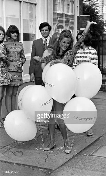 Charlotte Rampling opens the 'Jump Ahead' boutique 15th June 1967
