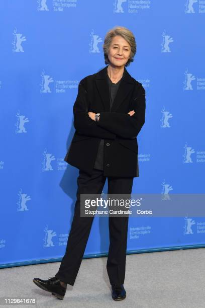Charlotte Rampling poses at the Hommage Charlotte Rampling photocall during the 69th Berlinale International Film Festival Berlin at Berlinale Palace...