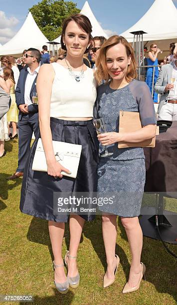 Charlotte Richie and Laura Main attend day one of the Audi Polo Challenge at Coworth Park on May 30 2015 in London England