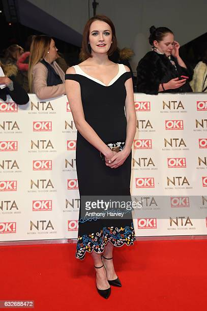 Charlotte Richie attends the National Television Awards on January 25 2017 in London United Kingdom