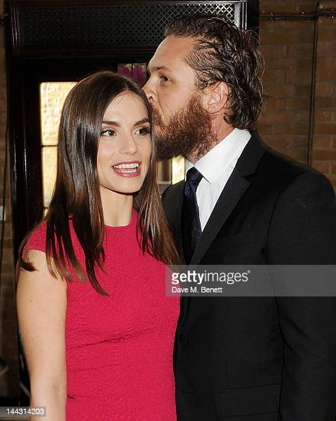 Charlotte Riley and Tom Hardy attend the British Academy Television Craft Awards at The Brewery on May 13 2012 in London England