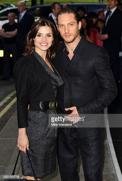 Charlotte Riley and Tom Hardy attend the English National Ballet's Summer Party at The Dorchester on June 15 2010 in London England