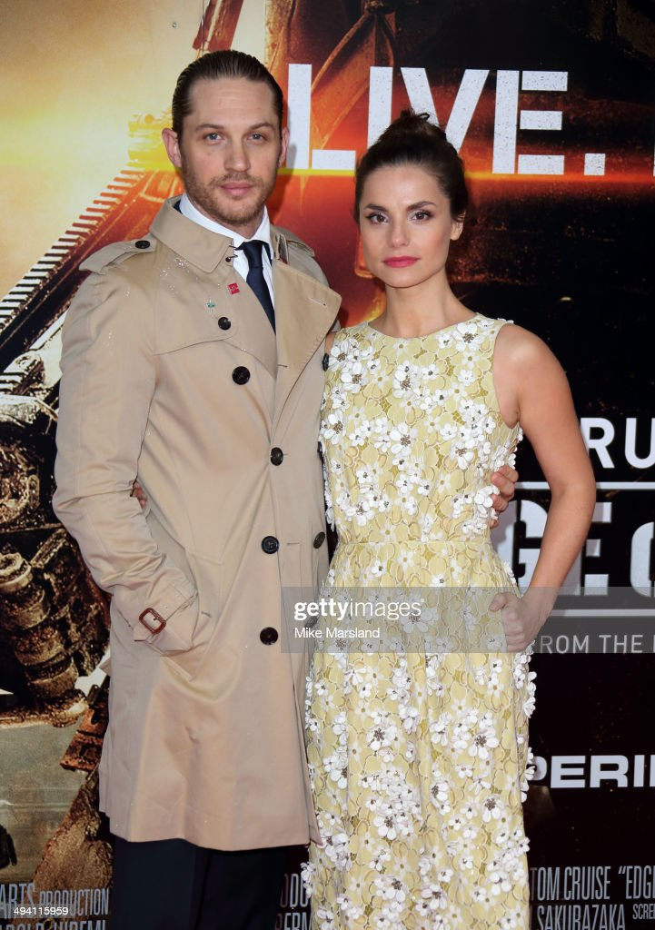 Charlotte Riley and Tom Hardy attend the premiere of