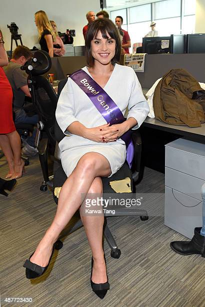 Charlotte Riley attends the annual BGC Global Charity Day at BGC Partners on September 11 2015 in London England