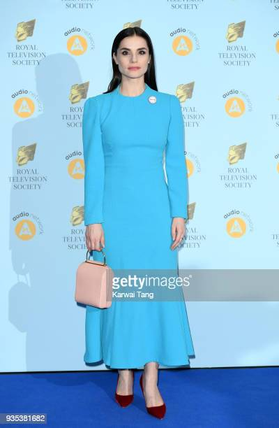 Charlotte Riley attends the RTS Programme Awards held at The Grosvenor House Hotel on March 20 2018 in London England