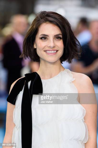 Charlotte Riley attends the 'Swimming With Men' UK Premiere at The Curzon Mayfair on July 4 2018 in London England