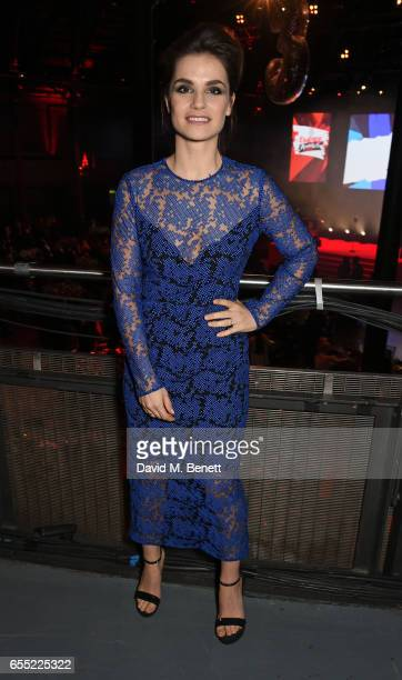 Charlotte Riley attends the THREE Empire awards at The Roundhouse on March 19 2017 in London England