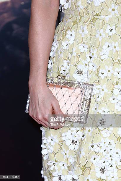 Charlotte Riley attends the UK premiere of 'Edge of Tomorrow' at BFI IMAX on May 28 2014 in London England