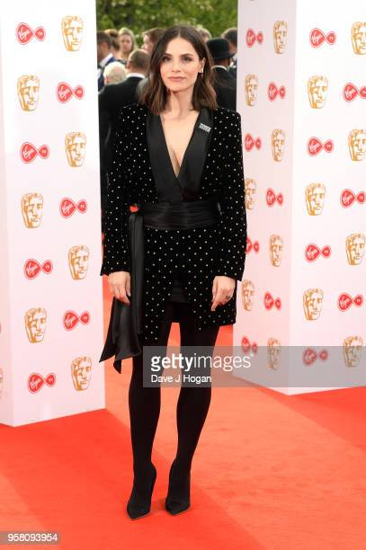 Charlotte Riley attends the Virgin TV British Academy Television Awards at The Royal Festival Hall on May 13 2018 in London England
