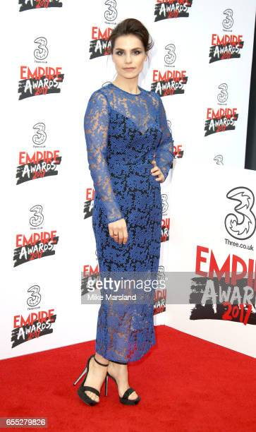 Charlotte Rileyattends the THREE Empire awards at The Roundhouse on March 19 2017 in London England