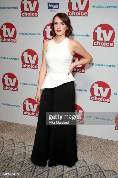 Charlotte Ritchie arrives for the TV Choice Awards at The Dorchester on September 4 2017 in London England