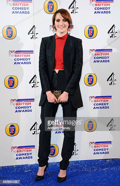 Charlotte Ritchie attends the British Comedy Awards at Fountain Studios on December 12 2013 in London England