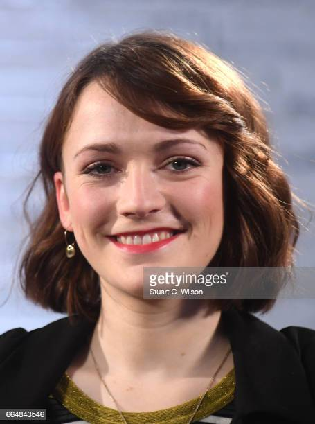 Charlotte Ritchie attends the Build LDN event with the cast of 'The Philantropist' at AOL London on April 5 2017 in London England