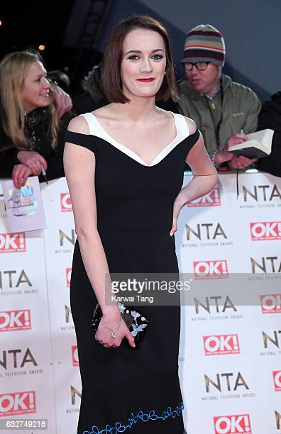 Charlotte Ritchie attends the National Television Awards at The O2 Arena on January 25 2017 in London England