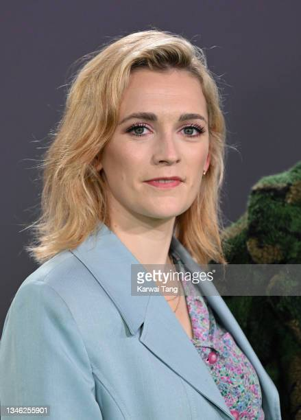 """Charlotte Ritchie attends """"The Phantom Of The Open"""" World Premiere during the 65th BFI London Film Festival at The Royal Festival Hall on October 12,..."""