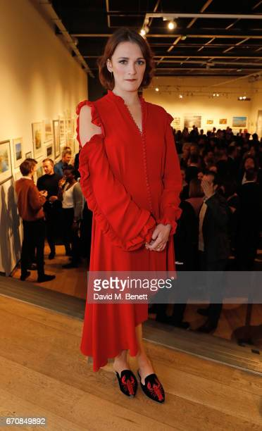 Charlotte Ritchie attends the press night after party for 'The Philanthropist' at the Mall Galleries on April 20 2017 in London England