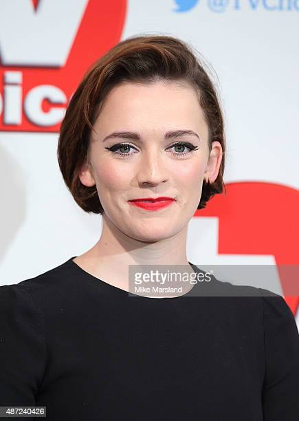 Charlotte Ritchie attends the TV Choice Awards 2015 at Hilton Park Lane on September 7 2015 in London England