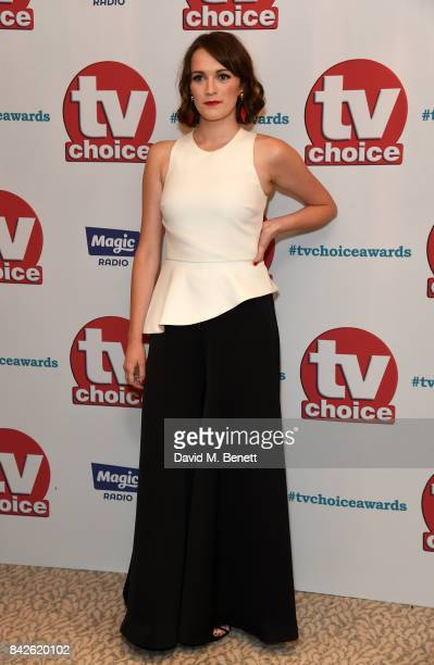 Charlotte Ritchie attends the TV Choice Awards at The Dorchester on September 4 2017 in London England