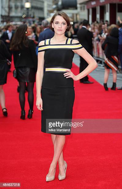 Charlotte Ritchie attends the World Premiere of 'The Bad Education Movie' at Vue West End on August 20 2015 in London England