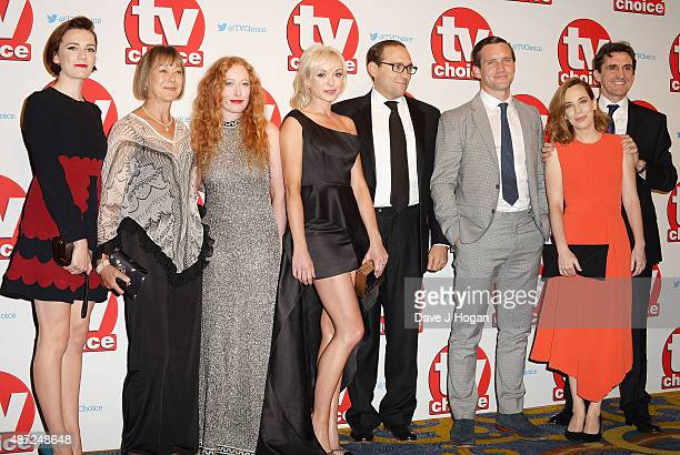 Charlotte Ritchie Jenny Agutter Victoria Yeates Helen George Ben Caplan Jack Ashton Laura Main and Stephen McGann attend the TV Choice Awards 2015 at...