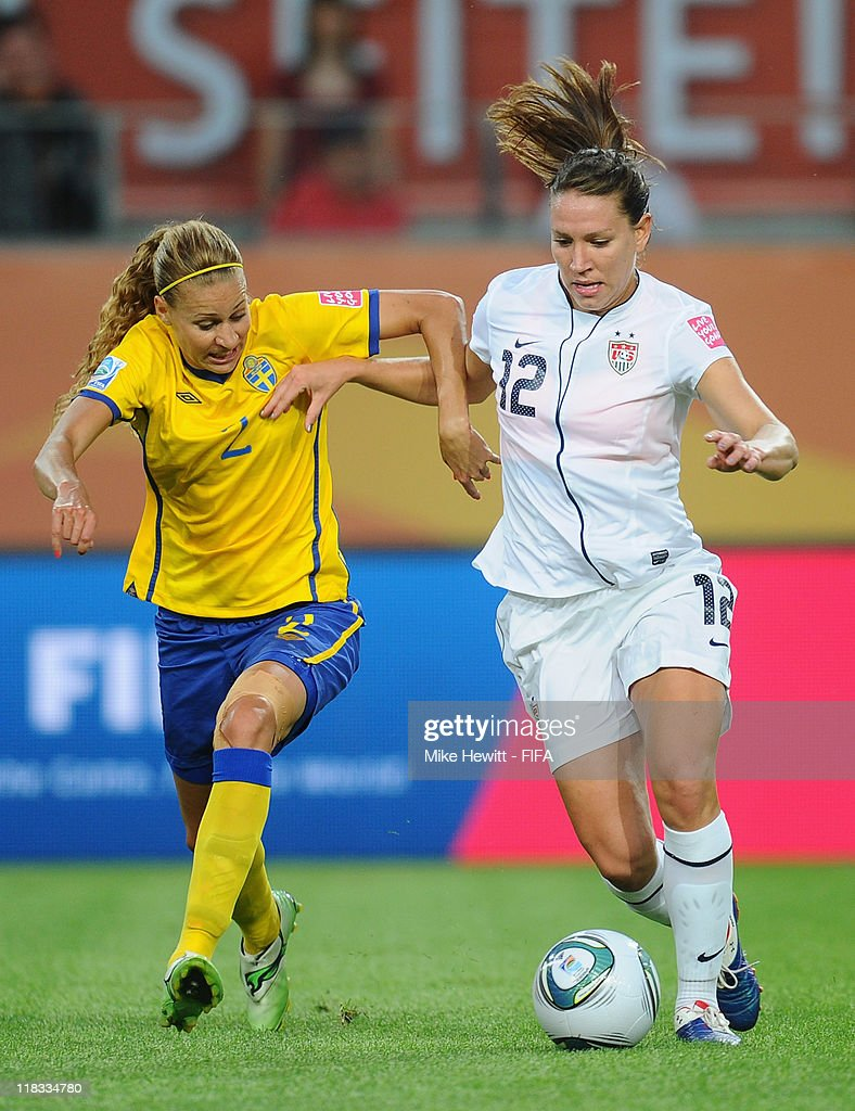 Sweden v USA: Group C - FIFA Women's World Cup 2011