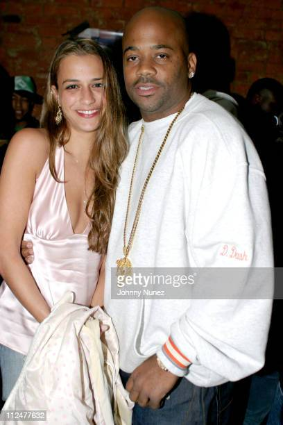Charlotte Ronson and Damon Dash during C Ronson 2004 Collection Launch Party at Canal Room in New York City New York United States