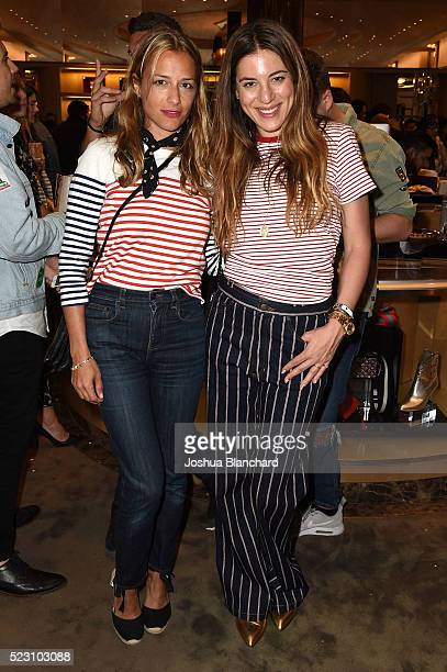 Charlotte Ronson and Dani Stahl attend Marc Jacobs And Nylon Magazine Celebrate #PATCHMARC at Marc Jacobs on April 21 2016 in Los Angeles California