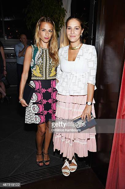 Charlotte Ronson and Margherita Missoni attend the debut of Margherita Missoni and Peroni Nastro Azzurro's Fall fashion collaboration during New York...