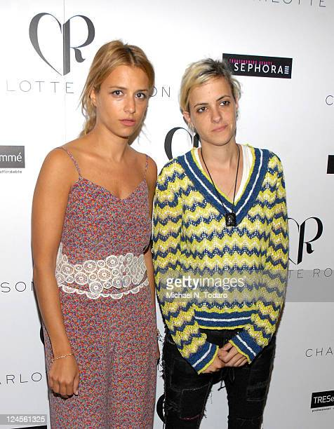 Charlotte Ronson and Sam Ronson attends the Charlotte Ronson Spring 2012 fashion show during Mercedes-Benz Fashion Week at The Stage at Lincoln...